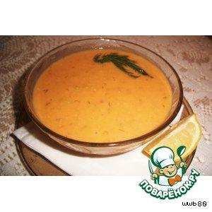 Рецепт Мясной чечевичный суп-пюре