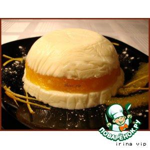 Рецепт Творожно-апельсиновый десерт