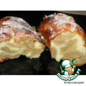"""Десерт для ленивых  """"Перина из яблок"""""""