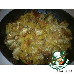 Рецепт Биточки с овощами