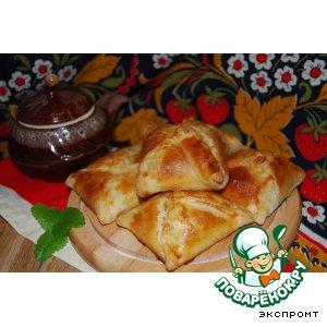Рецепт Слоеные конвертики с сыром