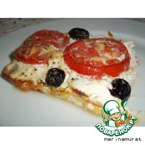 Рецепт Клафути из цуккини и томатов