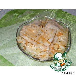 Рецепт Капустка остренькая, кисло-сладкая