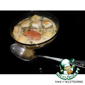 Рецепт Суп фасолевый по-французски
