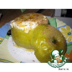 """Рецепт """"Запеканка"""" в яблоке"""