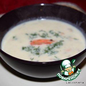 Рецепт Итальянский суп с морепродуктами