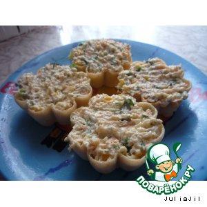 Рецепт Салат в тарталетках