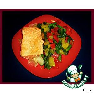 Рецепт Отварной  лосось