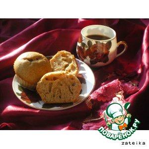 Рецепт «Легкие» кексы с черносливом