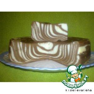 Рецепт Шоколадно-творожная запеканка в мультиварке