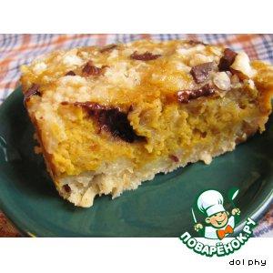 Рецепт Тыквенный пирог с крем-сыром