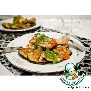 """Рецепт """"Poulet d\'Arles"""" - цыпленок с баклажанами"""