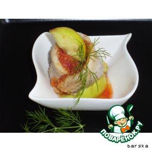 Рецепт Рольмопс с яблоками