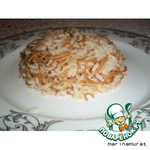 Рецепт Классический турецкий пилав с вермишелью
