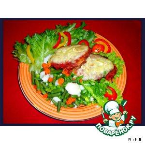 Рецепт Рубленый куриный шницель
