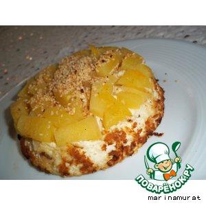 Рецепт Творожная запеканка с ананасами