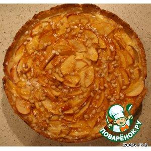 """Рецепт Пирог яблочный с кедровыми орешками """"Ароматный"""""""