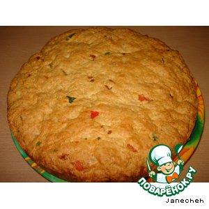 Пирог из кукурузных хлопьев домашний рецепт с фото пошагово как готовить