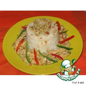 Рецепт Грудки в соусе из болгарского перца