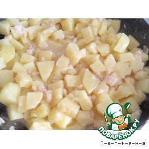 Рецепт Картофель в пиве с корейкой