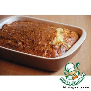 Рецепт Капустно-куриный пирог