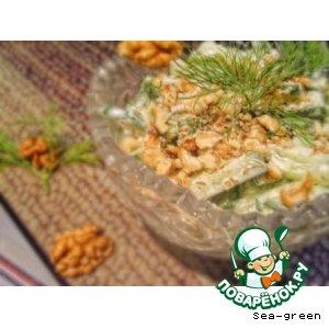 Рецепт Болгарский огуречный салат