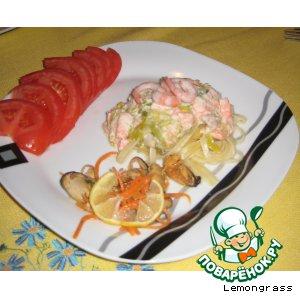 Рецепт Семга в сливочном соусе