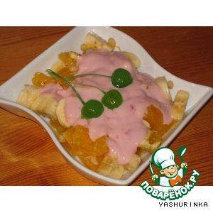 Фруктовый салат пошаговый рецепт приготовления с фото как готовить