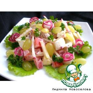 Рецепт Салат из мяса индейки