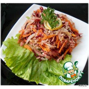 Рецепт Бурятский салат