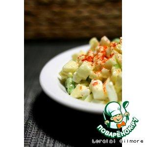 Рецепт Салат с фруктами и овощами