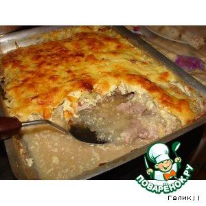 Филе индейки под сырной