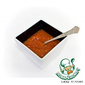 Тайский соус из перцев
