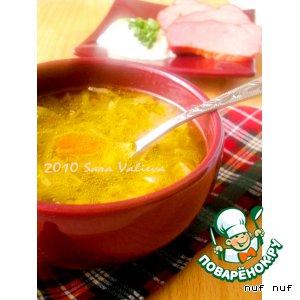 Рецепт Граубюнденский ячменный суп
