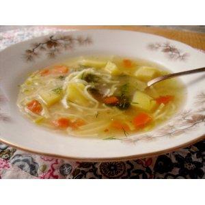 Рецепт Куриный суп с домашней лапшой