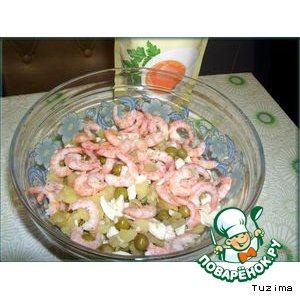 Готовим Креветочный салат