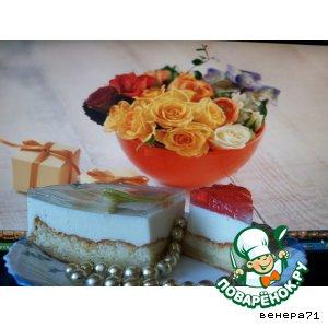 Рецепт Сливочное пирожное