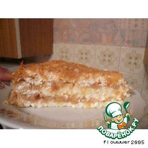 Рецепт Запеканка яблочно-кабачковая