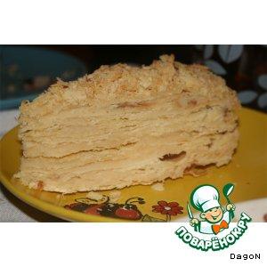 Торт песочный
