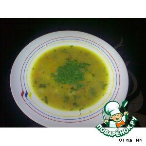 Рецепт Суп с овсяными хлопьями