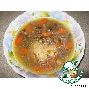 Рецепт Ароматный суп без картофеля