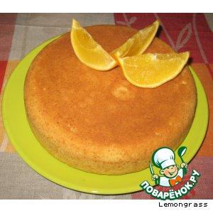 Рецепт Апельсиновый маффин в мультиварке или духовке
