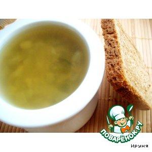 Рецепт Постный грибной суп с фасолью
