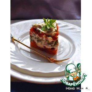 Рецепт Террин из лосося с корнишонами