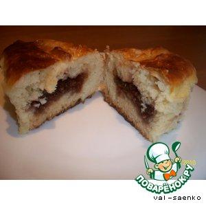 Рецепт Пироги с малиновым вареньем