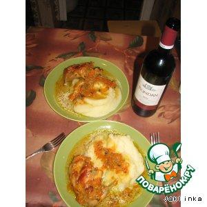 Рецепт Кролик, тушенный с овощами
