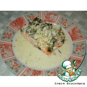 Рецепт Лососина с картофельной корочкой