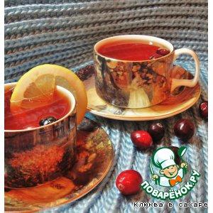 "Рецепт Витаминный напиток  ""Lemon and Сranberry"""