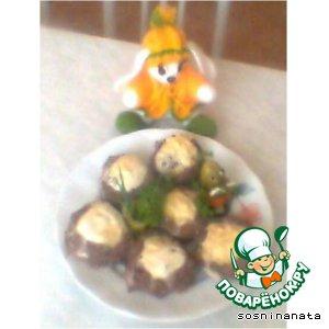 Рецепт Вороньи гнезда от зайчика с лубяной избушкой