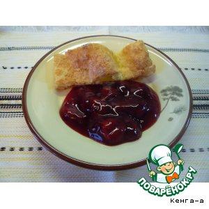 Рецепт Быстрый и легкий соус из вишни